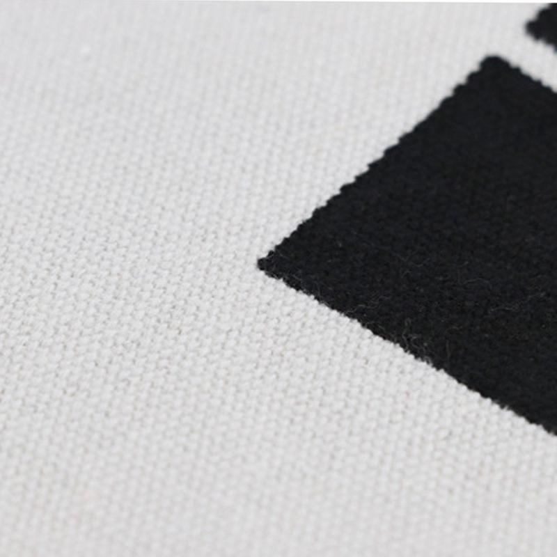 Grand Panier À Linge Design Noir