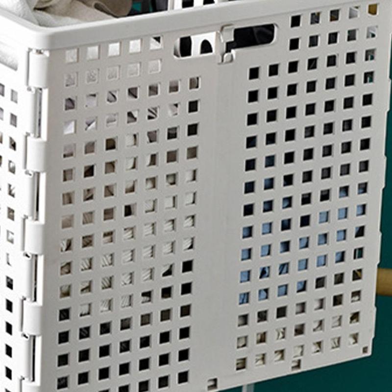Panier À Linge 2 Compartiments Plastique