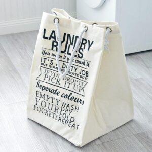 Panier À Linge Blanc Design