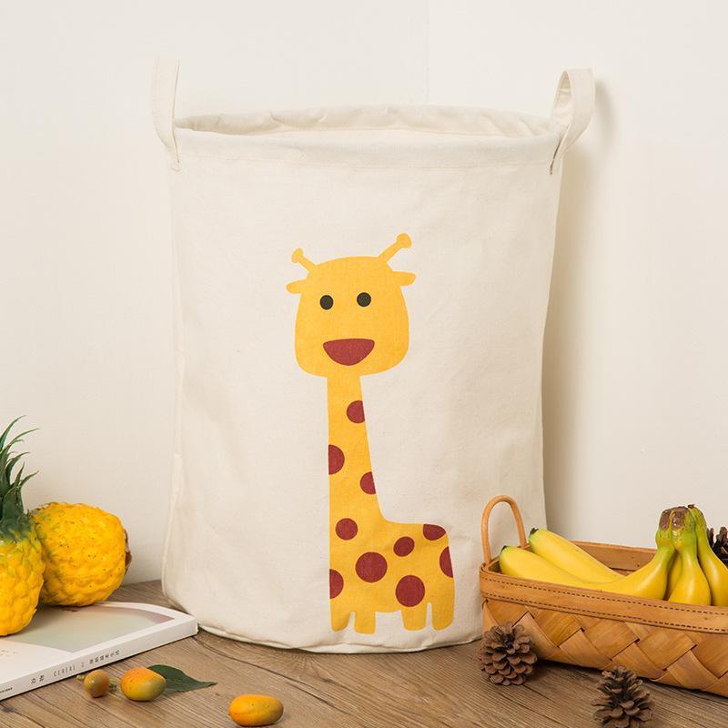 Panier À Linge Girafe