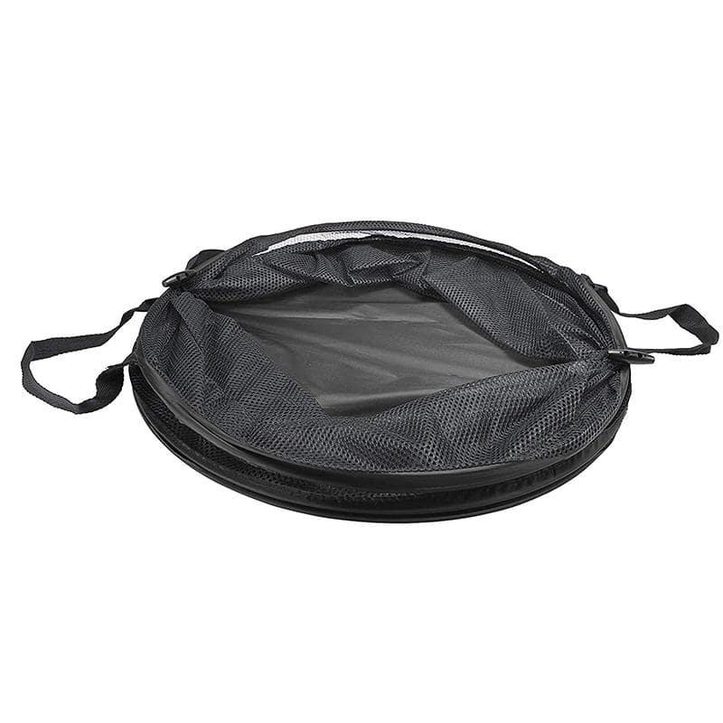 Panier À Linge Plastique Noir